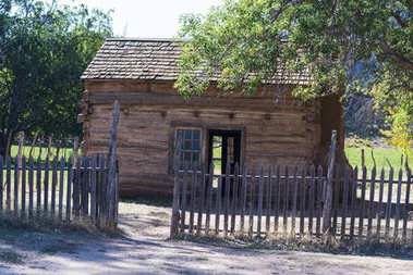 Old barn and corral
