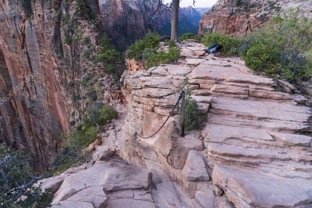 Angels Landing Hiking Trail