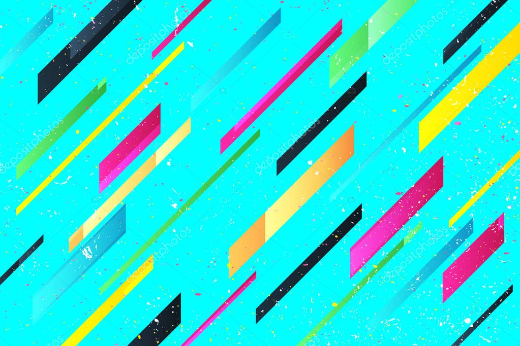 Wallpapers Bright Cool Abstract Colorful Stripes Over