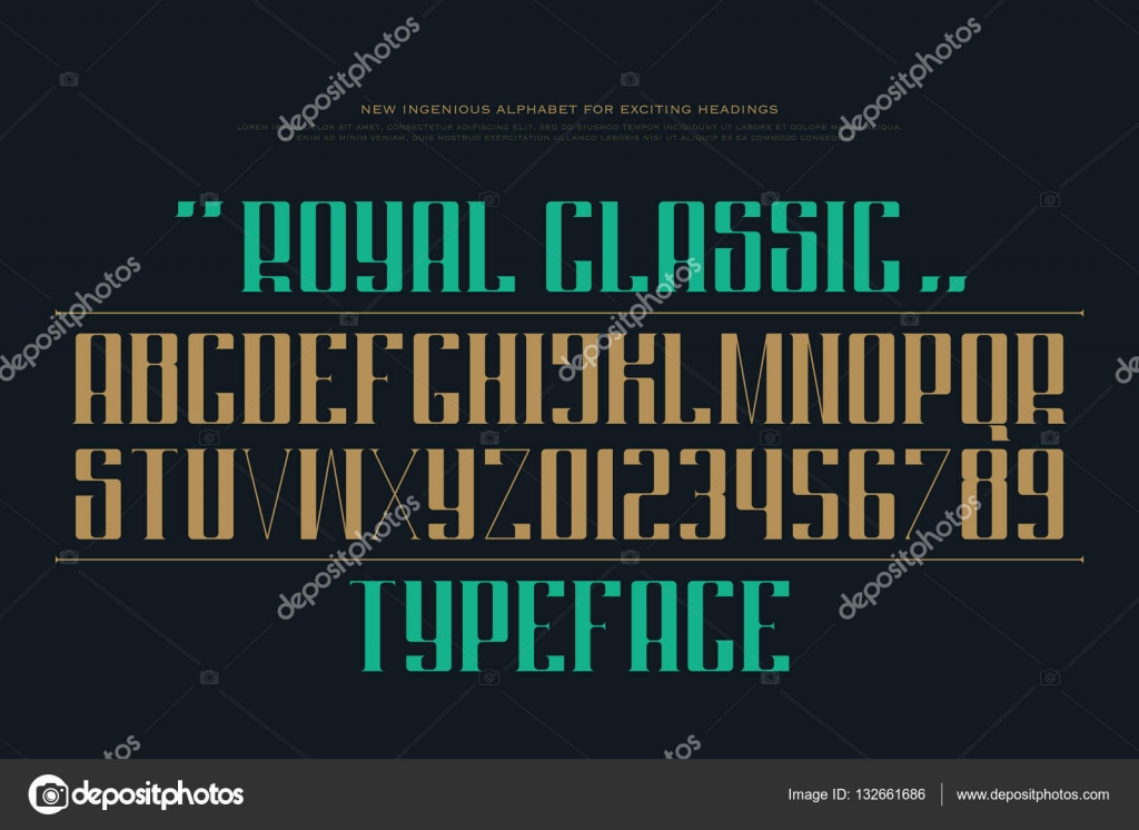 Uppercase alphabet letters and numbers vector font type design uppercase alphabet letters and numbers vector font type design decorative lettering symbols stylish buycottarizona Gallery