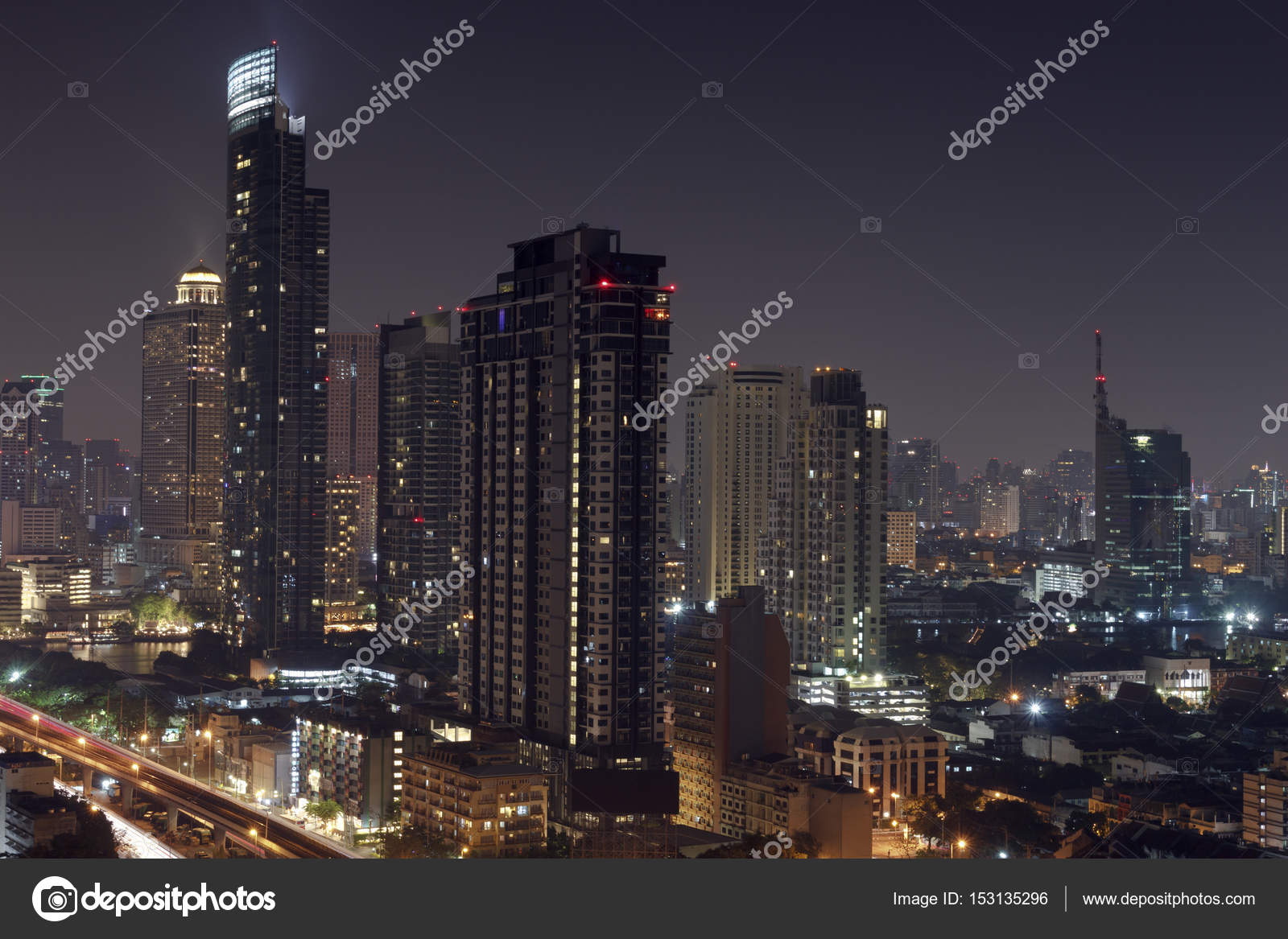 Top Wallpaper Night Abstract - depositphotos_153135296-stock-photo-abstract-downtown-night-scene-modern  Snapshot.jpg