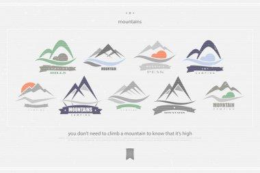 high mountains logo