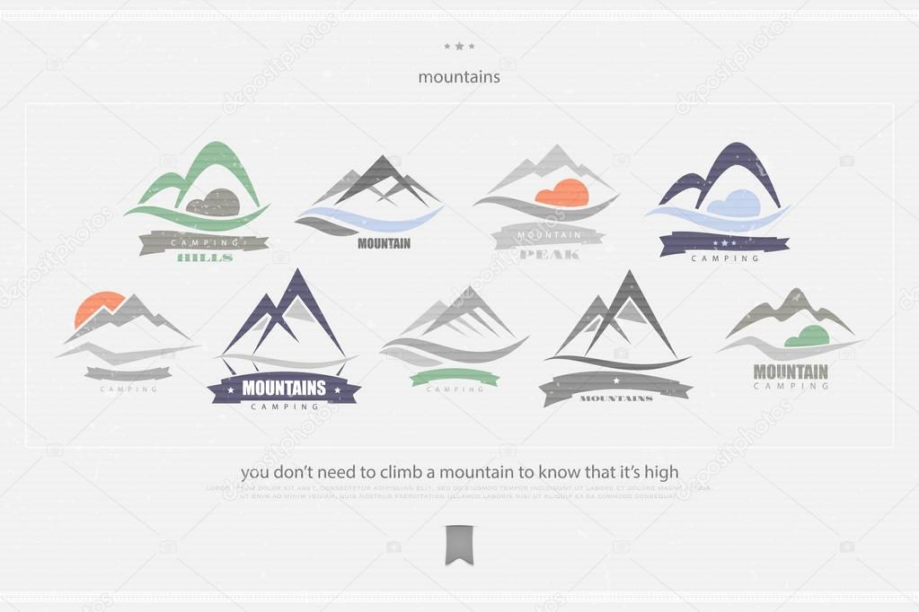 high mountains logo