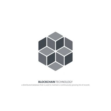 blockchain technology icon