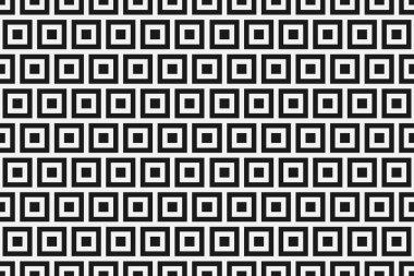 "Картина, постер, плакат, фотообои ""бесшовный паттерн с черные и белые квадраты"", артикул 169884870"