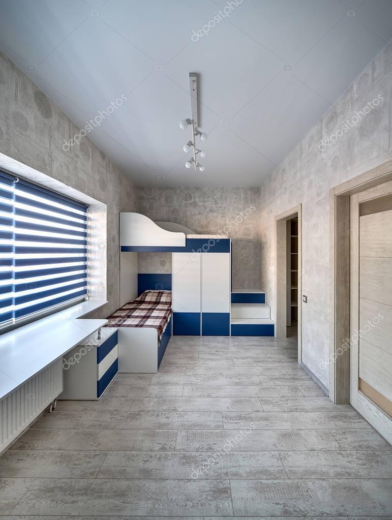 Kinderzimmer in modernem Stil — Stockfoto © bezikus #129287376