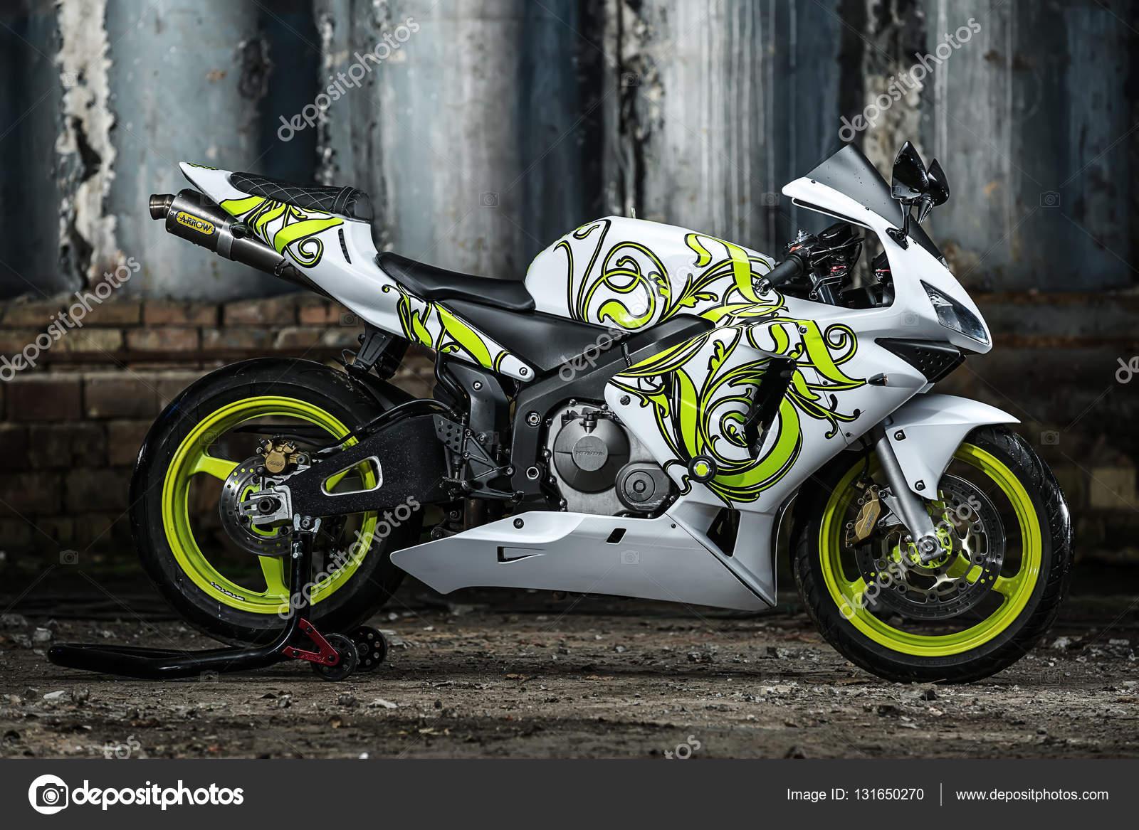 Honda Motorrad Tuning Motorrad Bild Idee