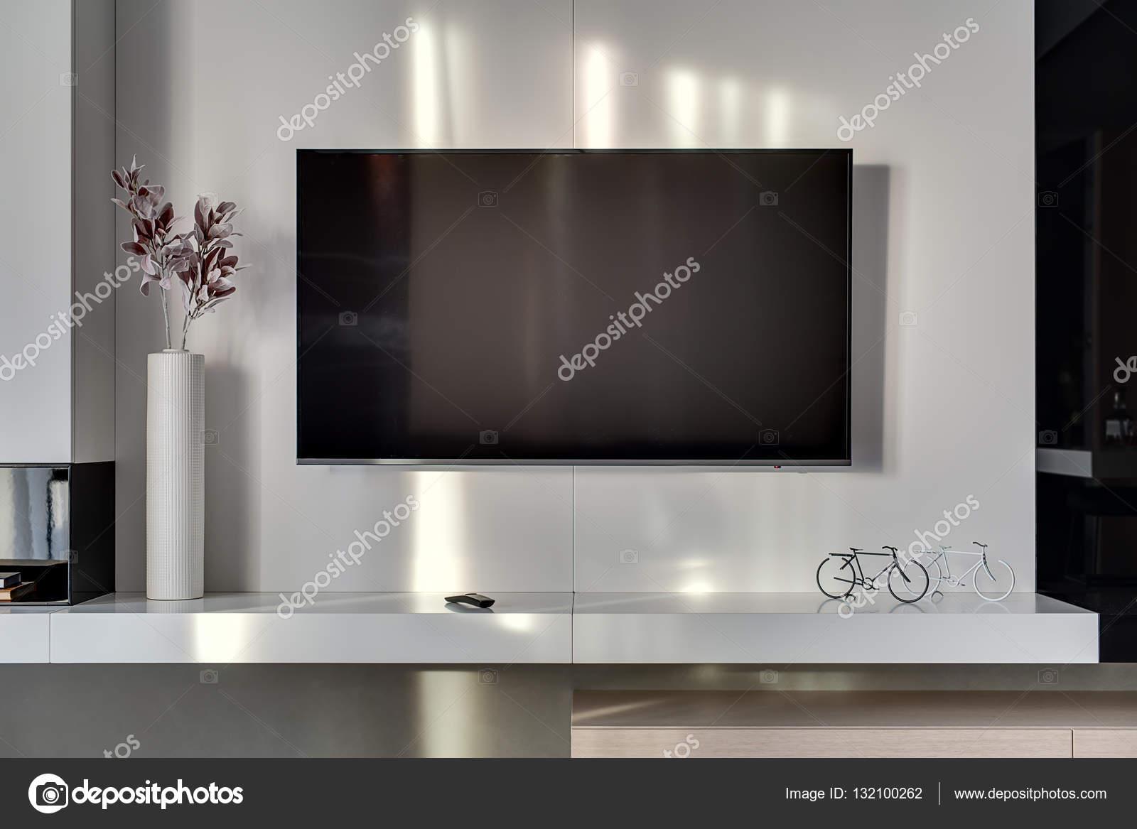 Tv Aan Muur : Tv meubel in muur verdiept cvh design maatinterieur voor wonen