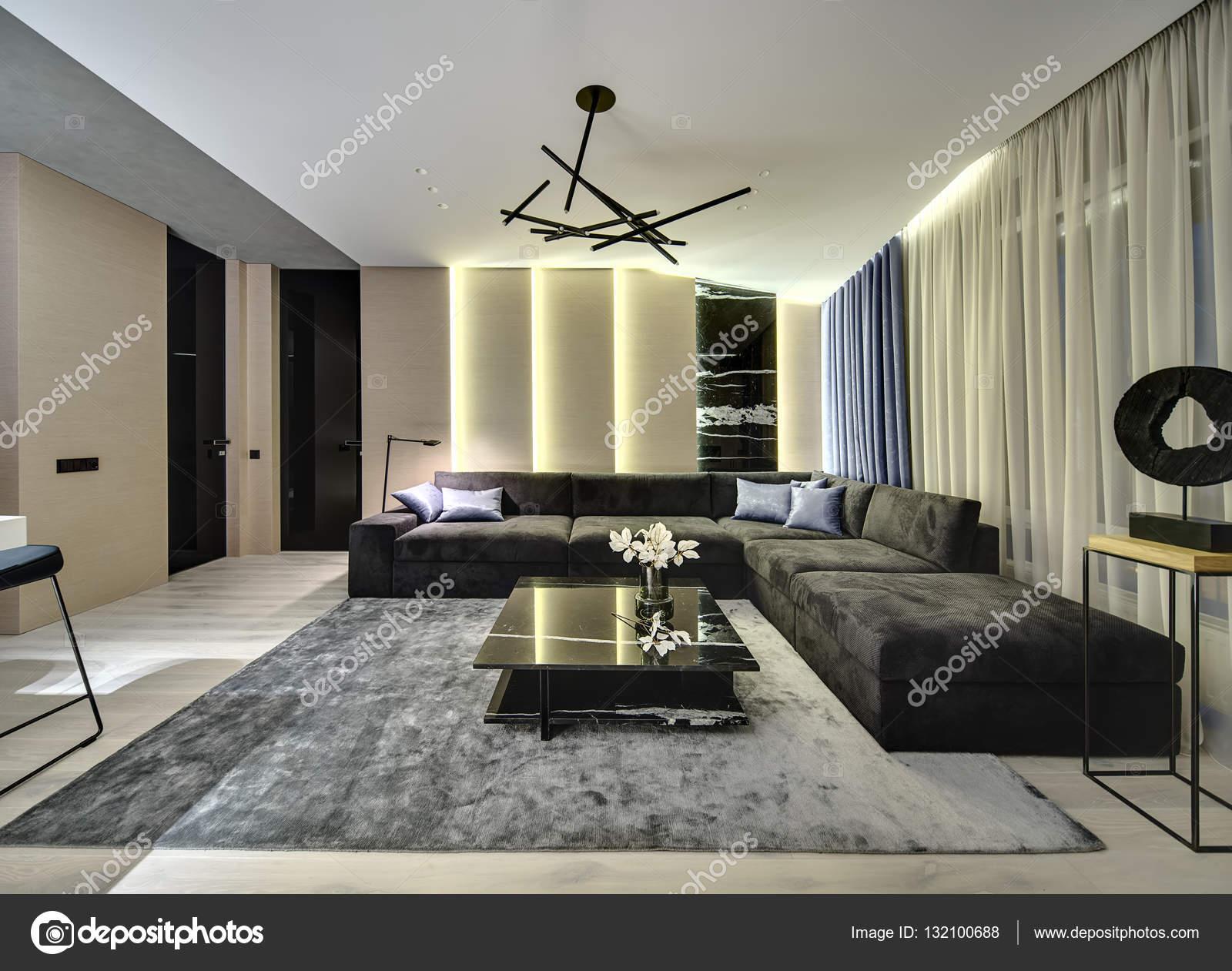 Halle im modernen Stil — Stockfoto © bezikus #132100688