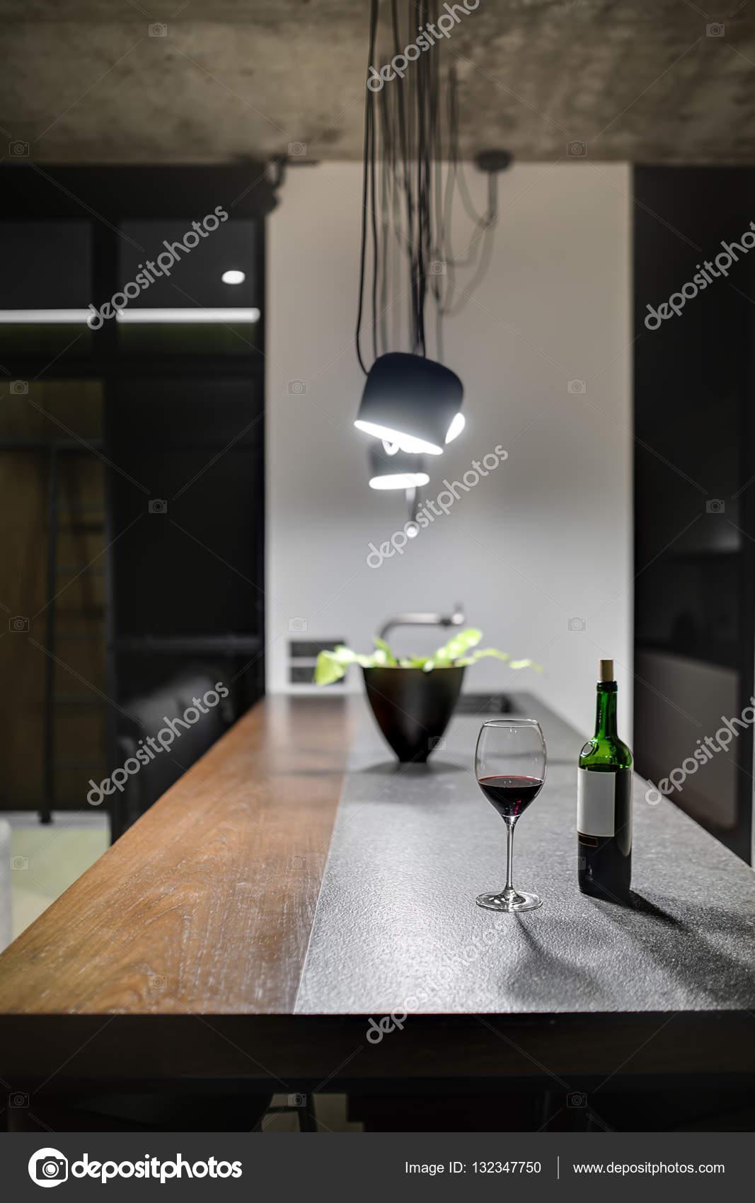 Küche im Loftstil — Stockfoto © bezikus #132347750