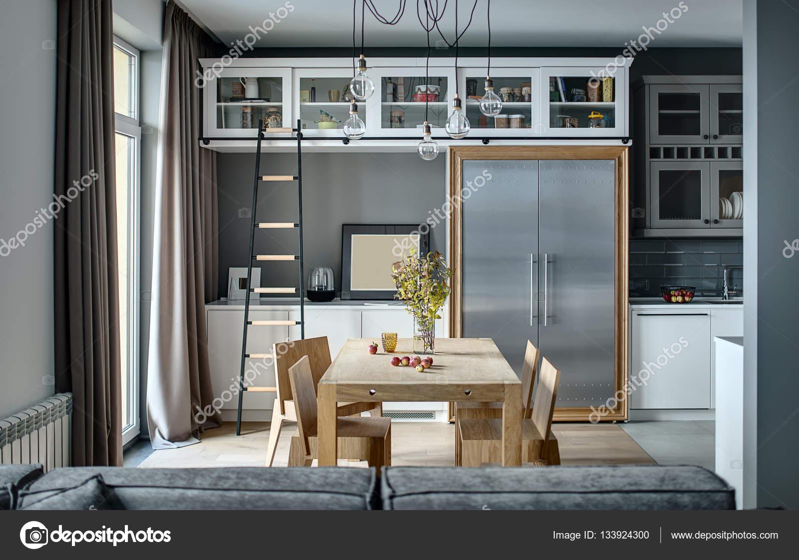 Tavolo E Sedie Stile Contemporaneo.Cucina In Stile Contemporaneo Foto Stock C Bezikus 133924300
