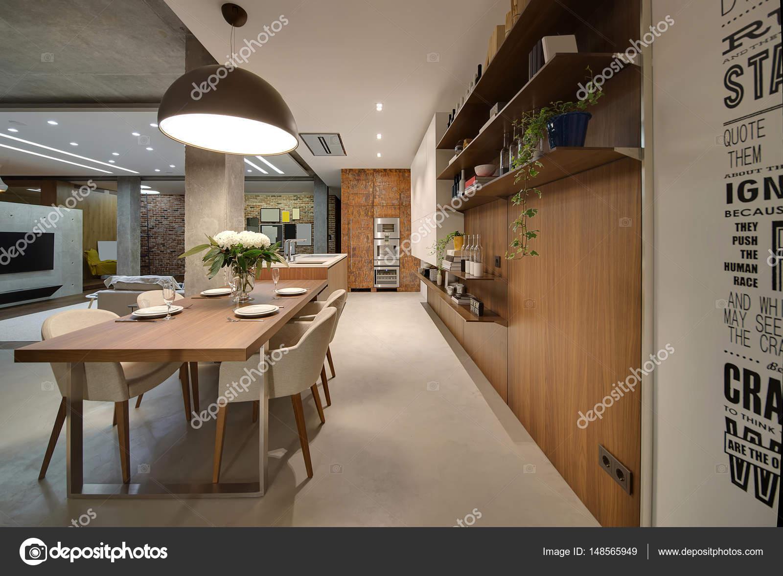 Apartamento Em Estilo Loft Fotografias De Stock Bezikus 148565949