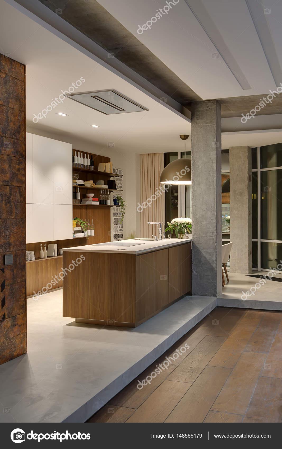 Cozinha Em Estilo Loft Fotografias De Stock Bezikus 148566179