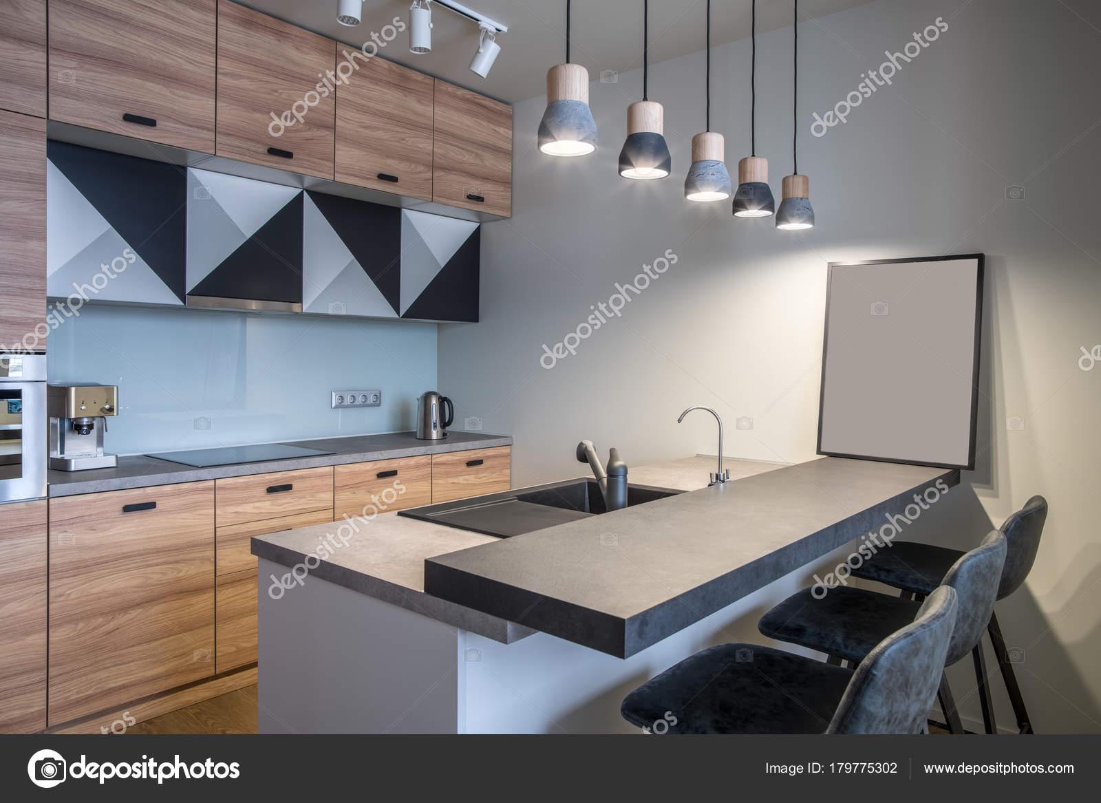 Стильні кухні в стилі модерн — Стокове фото — ніхто не © bezikus ... 6d41bbc8952b6