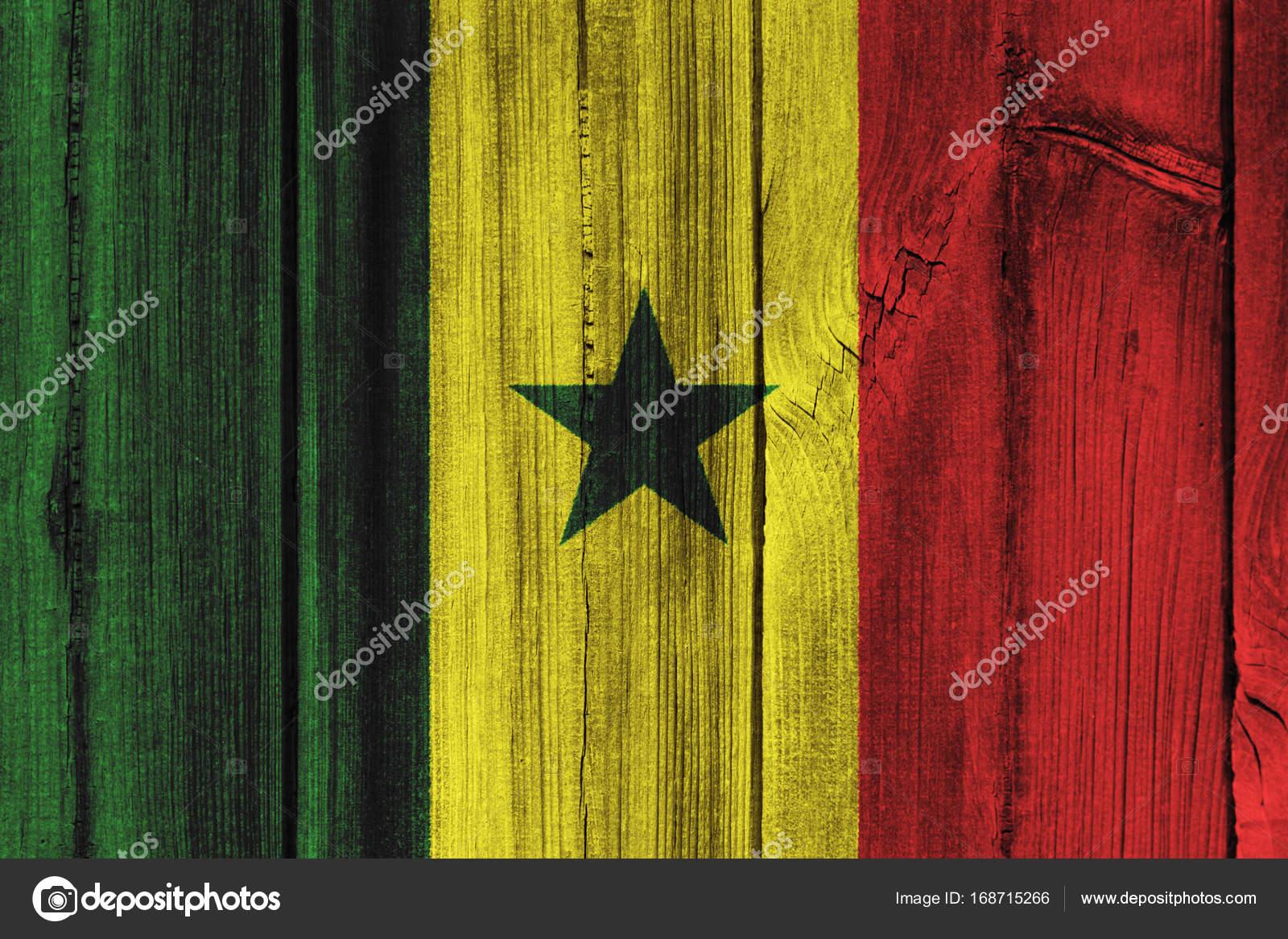 Bandera De Senegal Para Pintar Bandera De Senegal Pintado