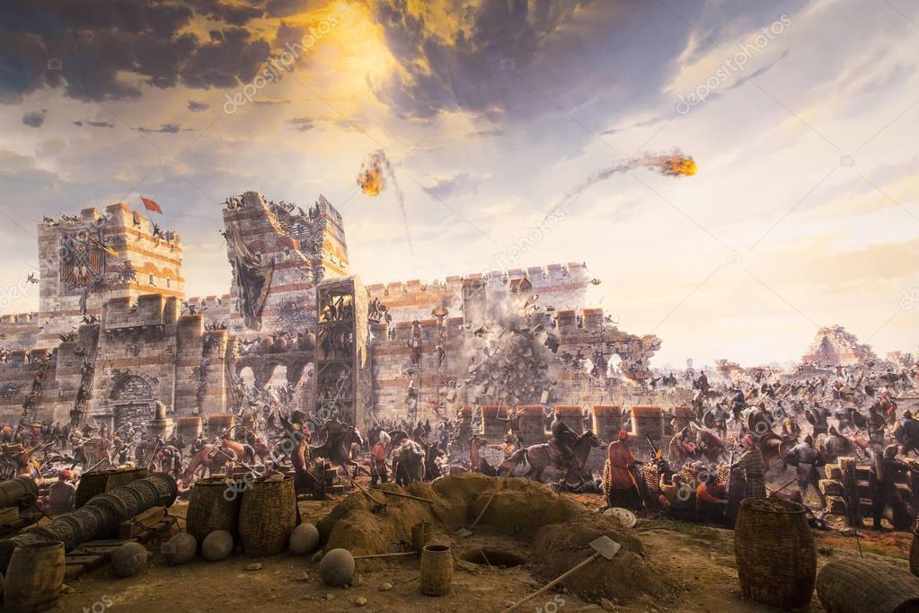 Fall Konstantinopel