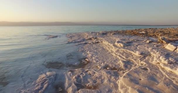 Sůl z Mrtvého moře vklady kameny