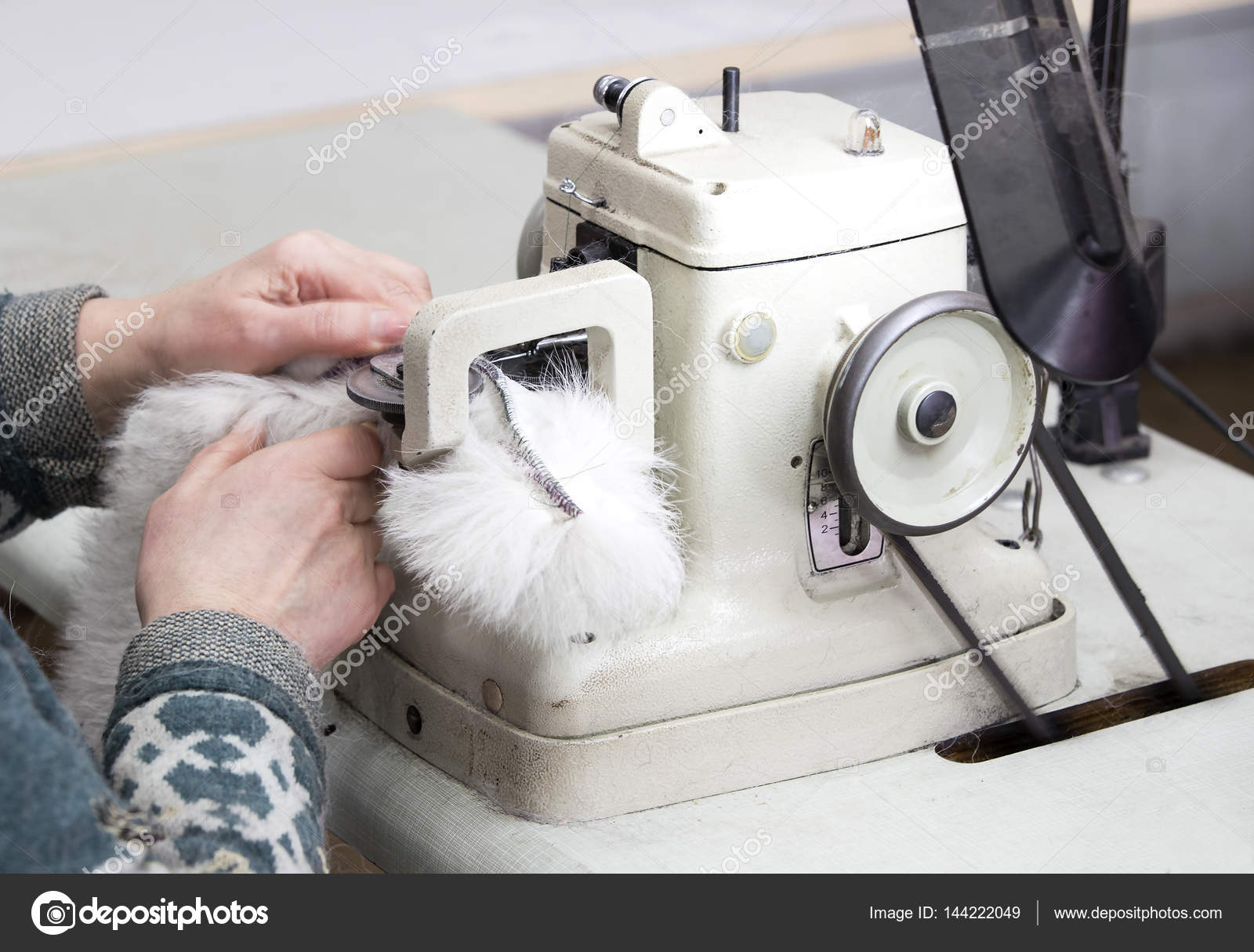 flujo de trabajo y patrones de costura de piel — Fotos de Stock ...