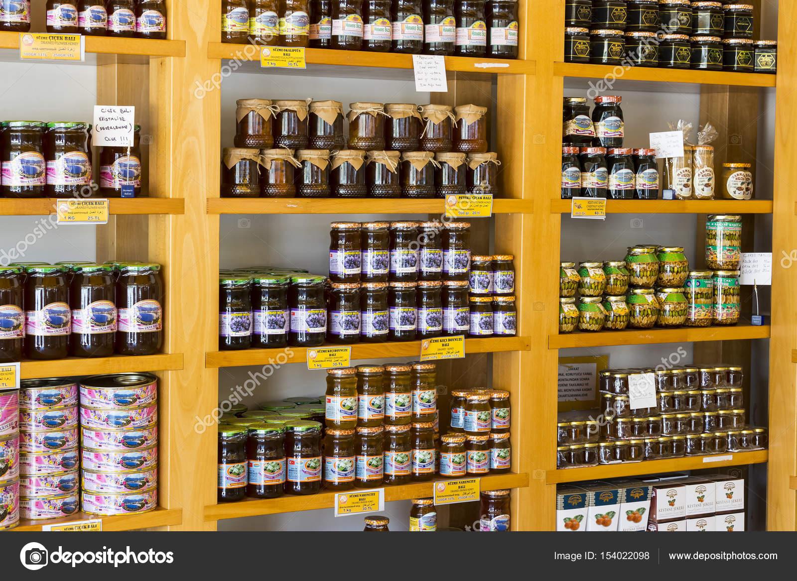 Estanterias tienda especializada para la venta de miel abeja pino y ...