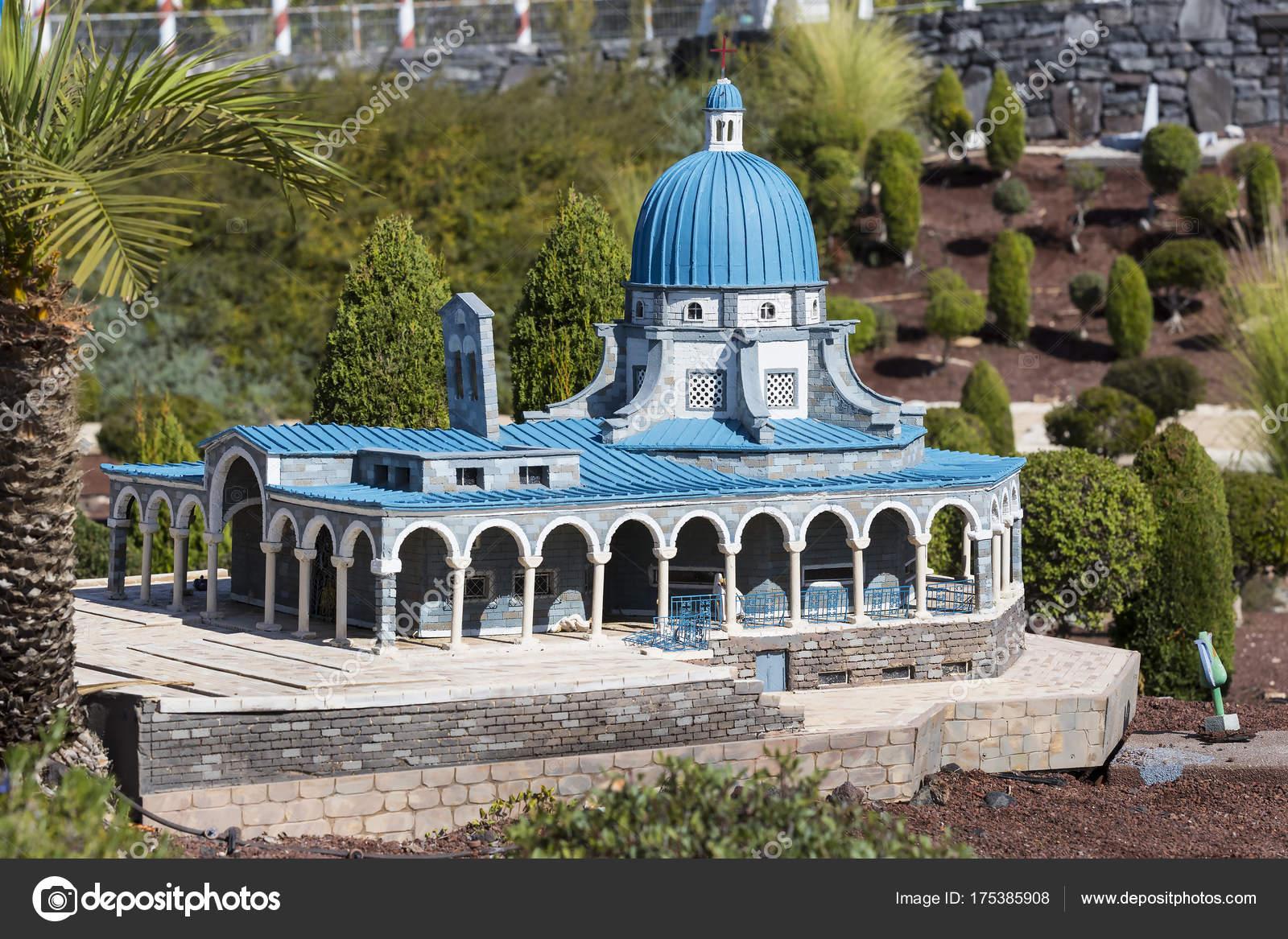 Latrun Israel November 2017 Museum Miniature Architectural Landmarks