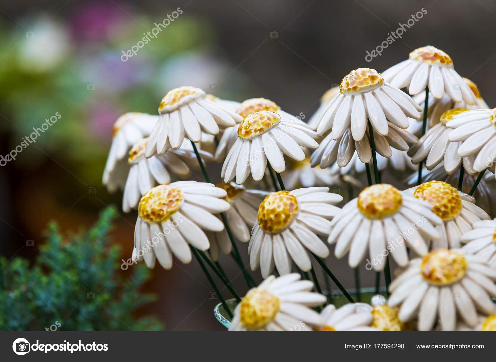 Tradycyjne Węgierskie Ceramiczne Kwiaty Dekoracji Wnętrza