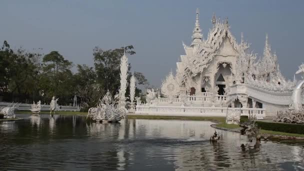temple. white, thailand. palace beautiful