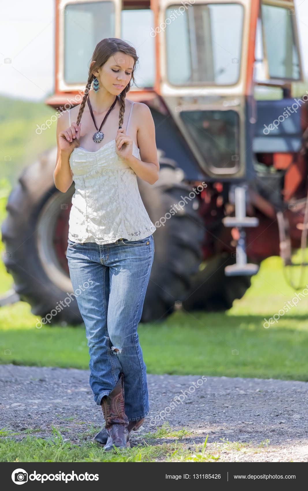 Horny farmers daughter