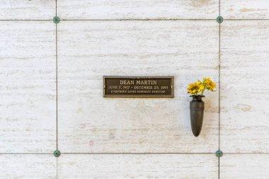 October 25 Dean Martin's Crypt