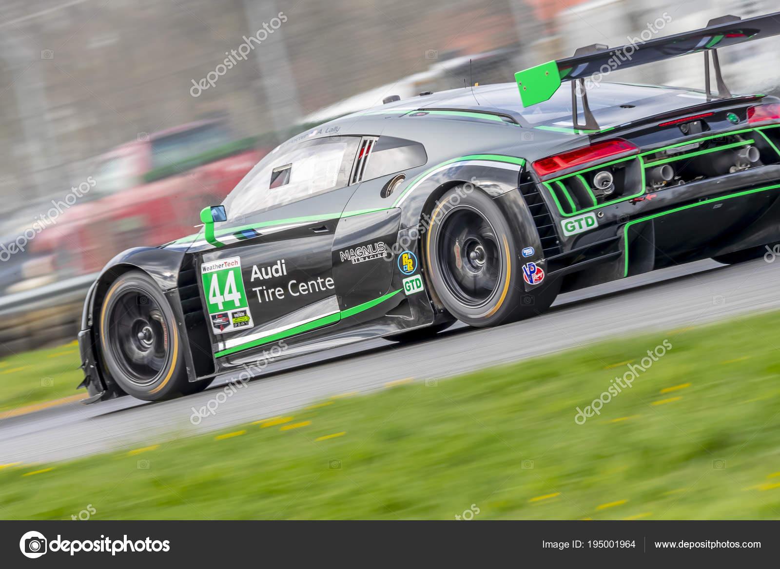 IMSA: May 04 Acura Sports Car Challenge U2014 Stock Photo