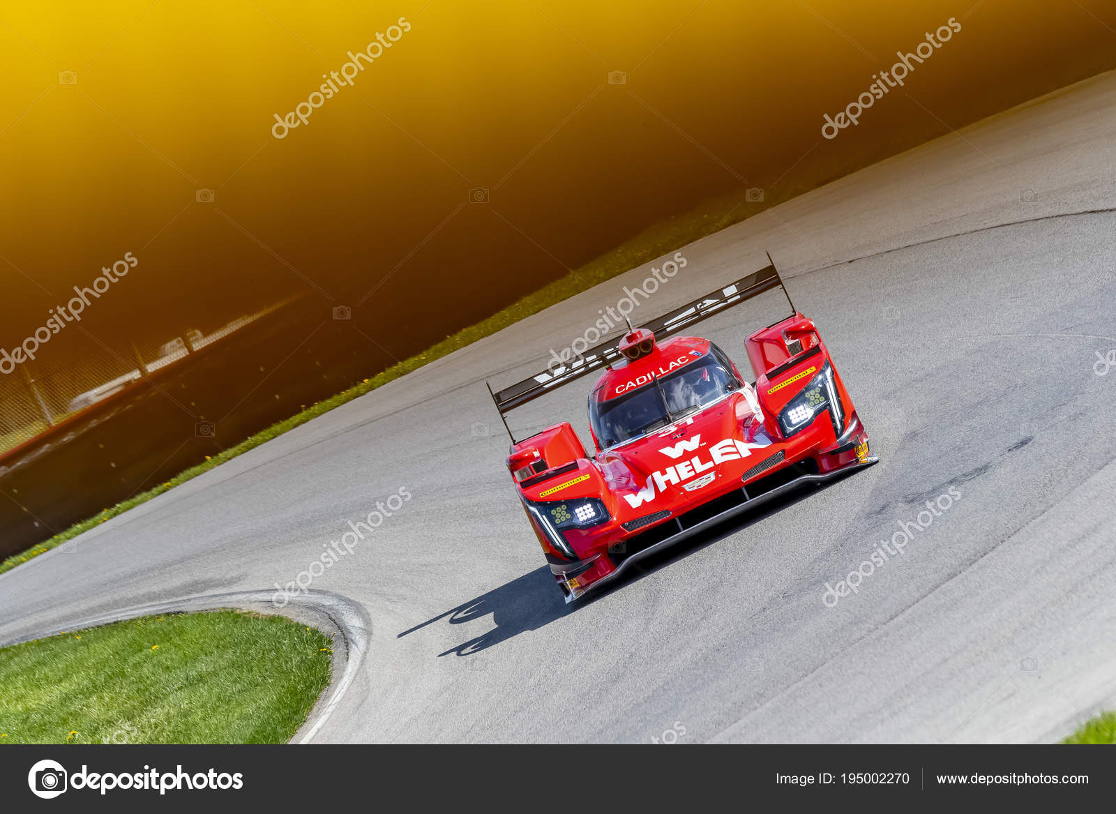 IMSA: May 04 Acura Sports Car Challenge U2014 Stock Photo