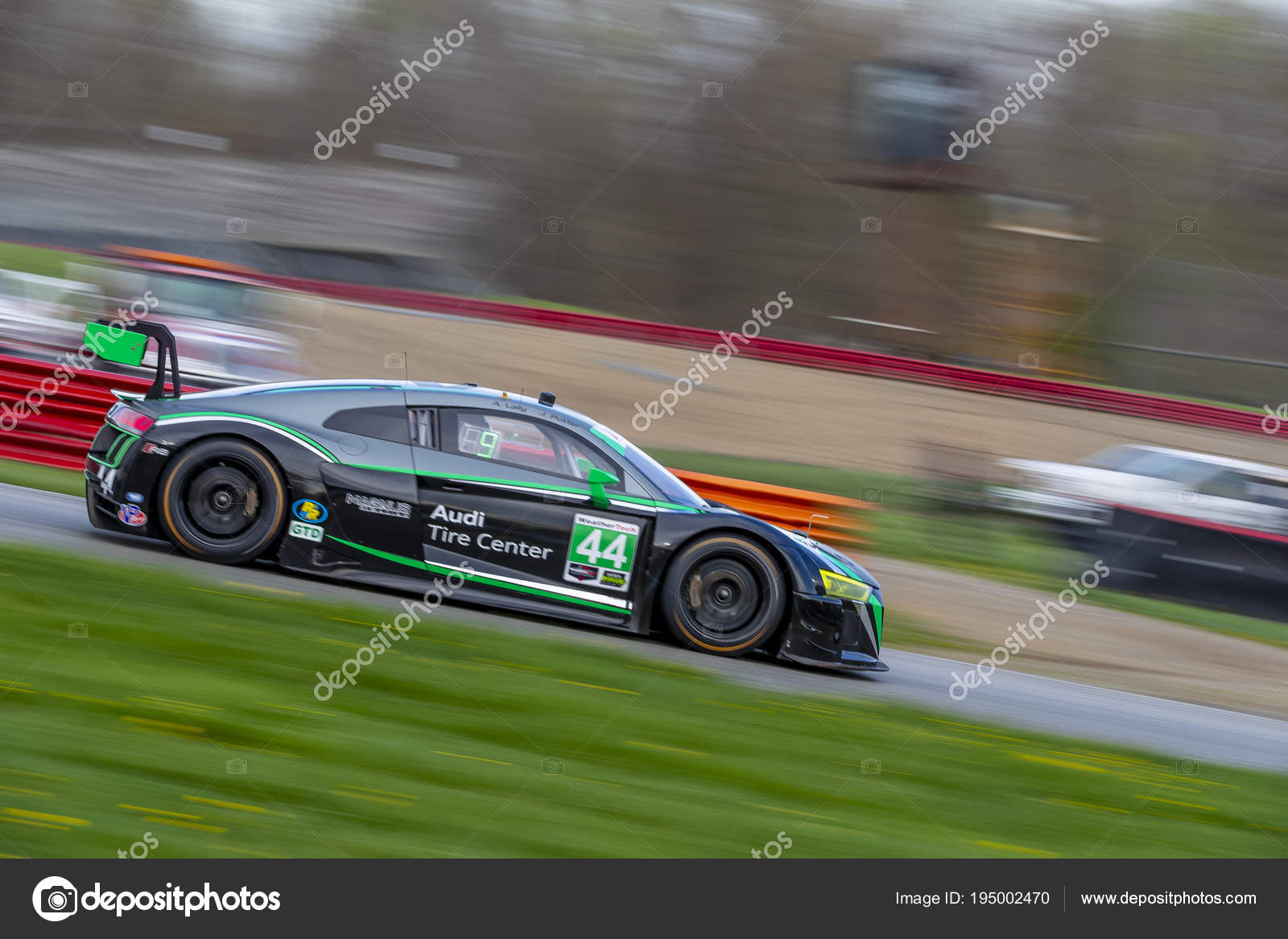 IMSA: May 05 Acura Sports Car Challenge U2014 Stock Photo