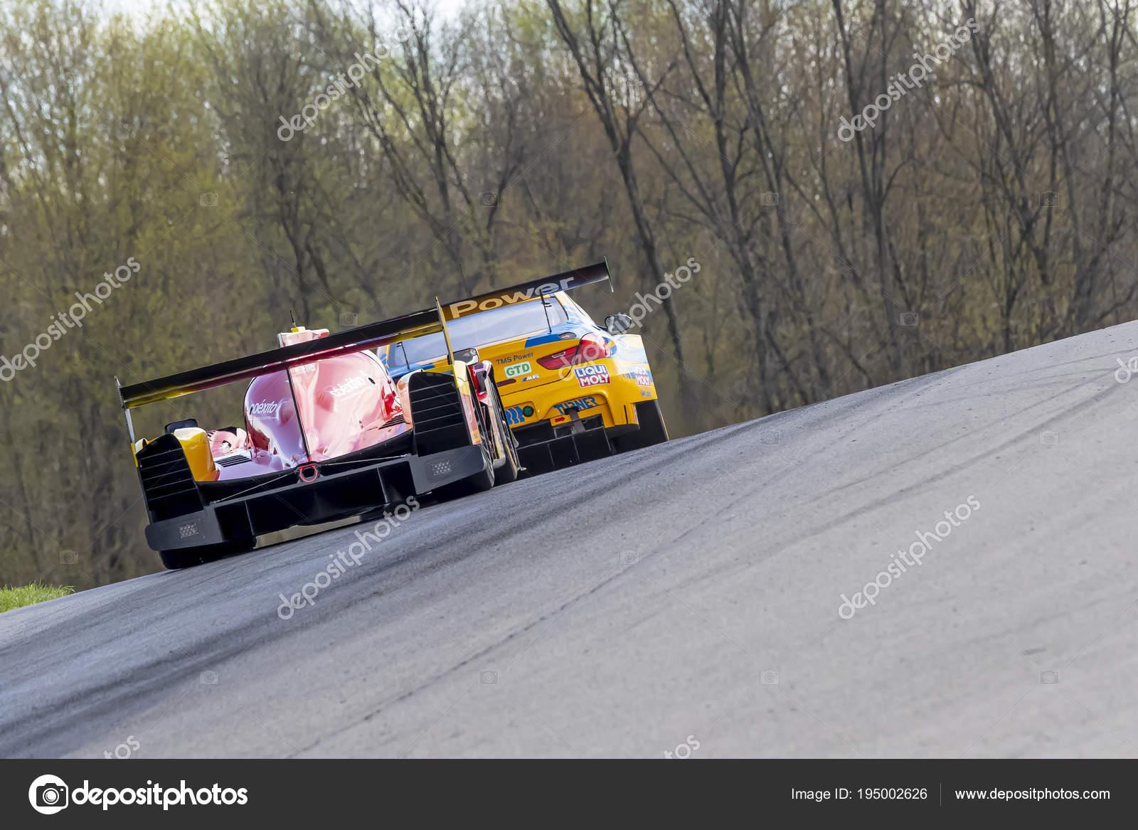 IMSA: May 05 Acura Sports Car Challenge U2014 Stock Photo