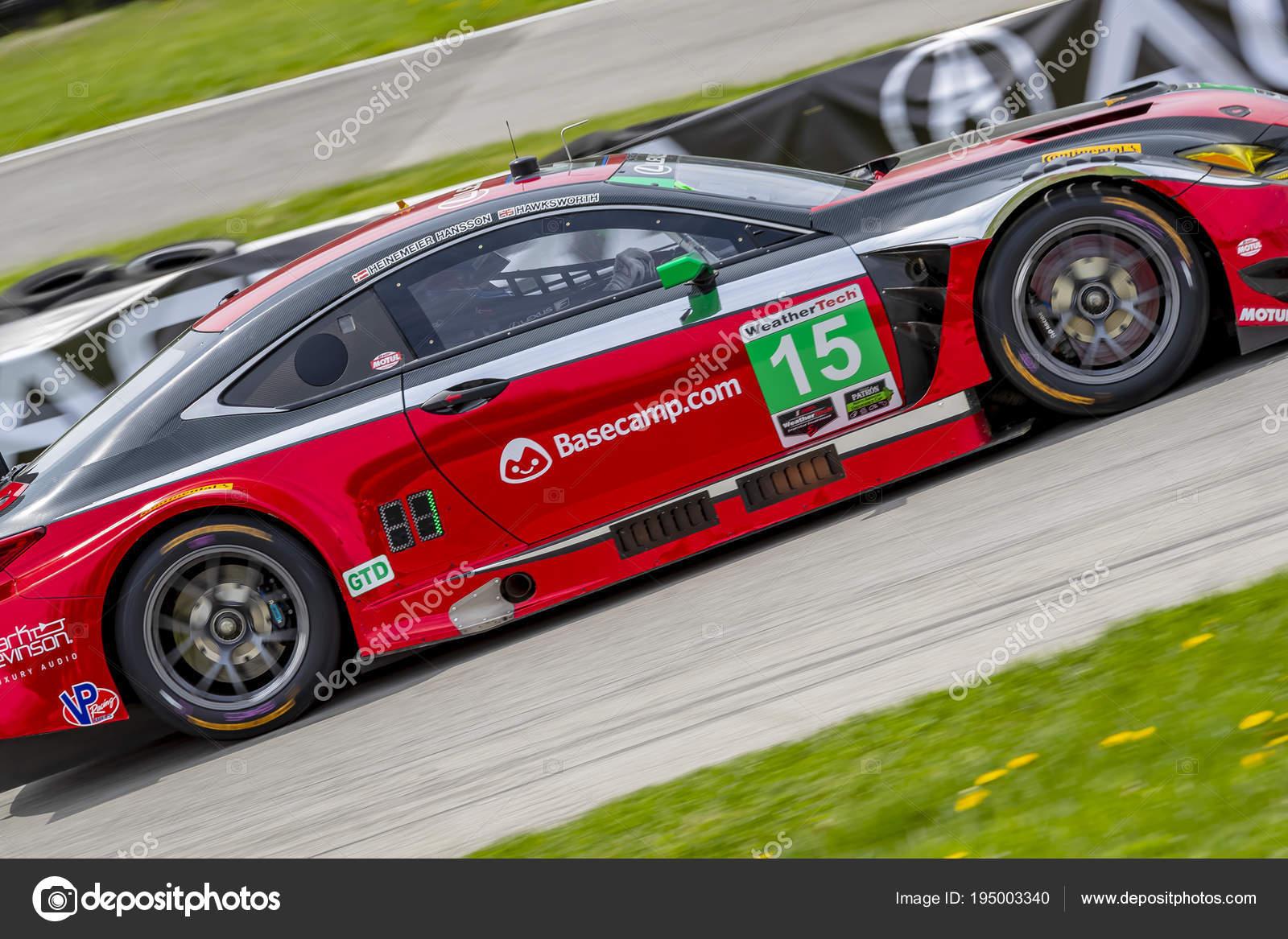 IMSA: May 06 Acura Sports Car Challenge U2014 Stock Photo