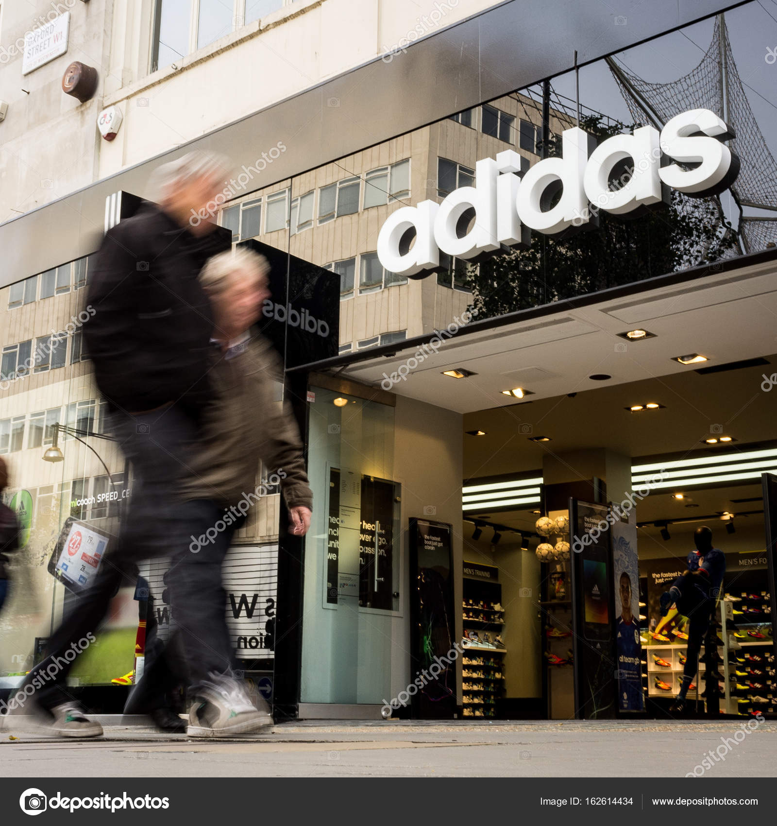 Adidas Store, Oxford Street, London - Redaktionelles