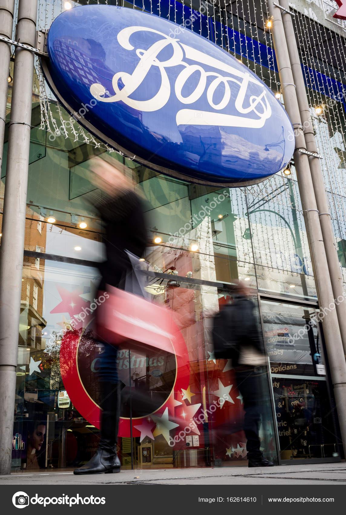 Boots, Oxford Street, London \u2013 Stock Editorial Photo © pxl