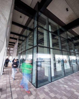 Tate Modern viewing level, London