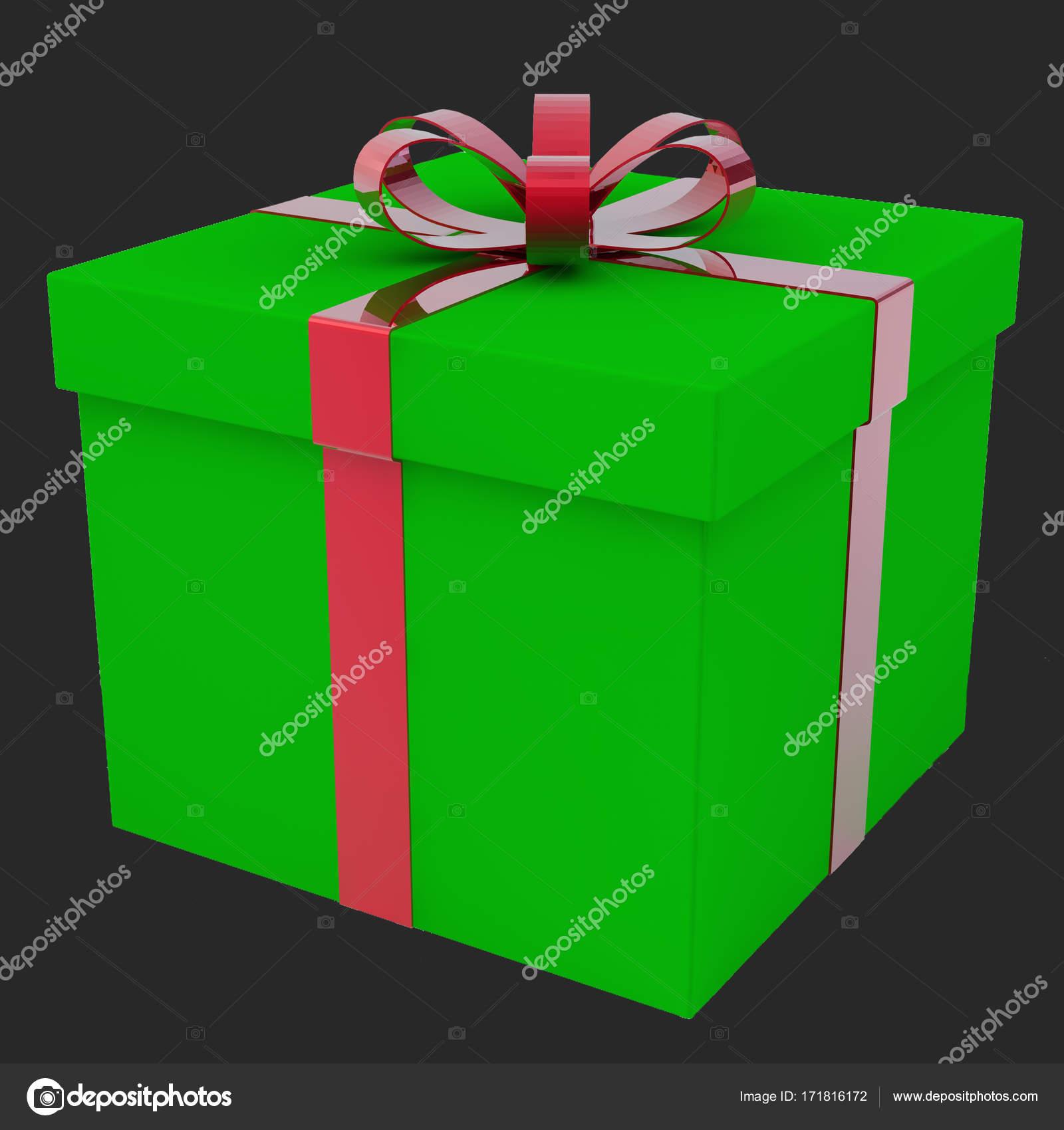 Unas cajas de regalo. Un regalo para un día de fiesta — Foto de ...