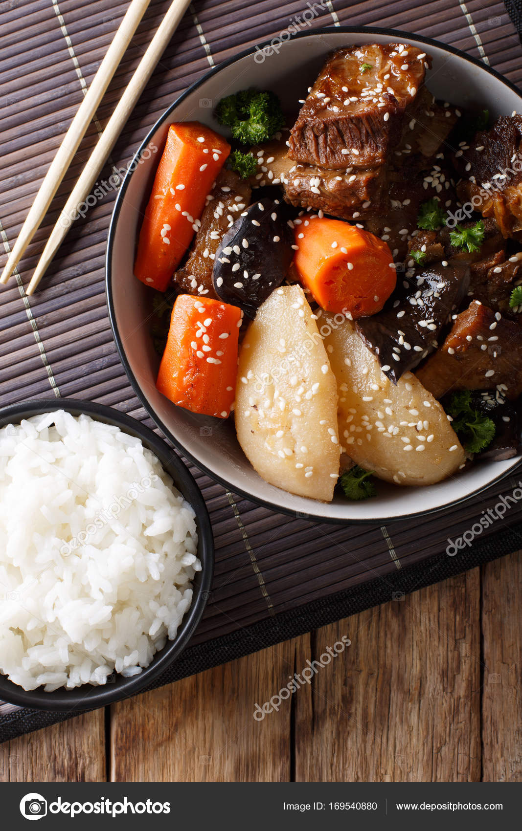 Watch Kalbi jjim is slowly braised beef short ribs in a soy sauce, sesame oil, and garlic sauce. It is often prepared for special occasions video