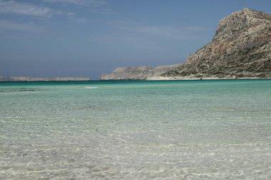 Balos lagoon, Crete island, Greece