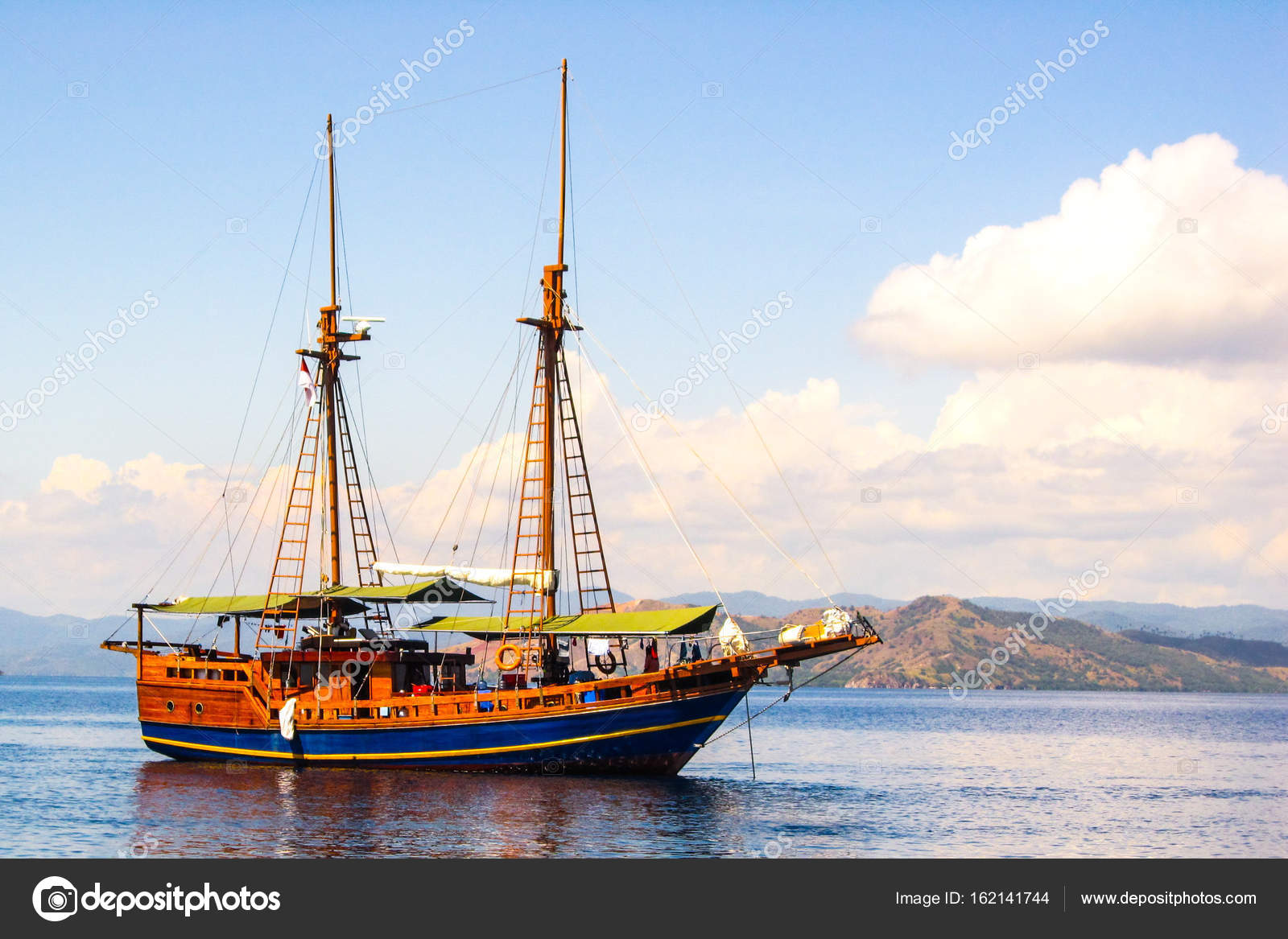 Old Classic Wooden Sailing Boat Stock Photo 9gench At Gmailcom