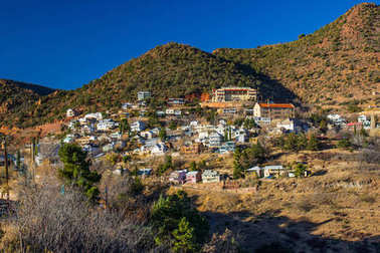 Vintage Mining Community In Arizona Hills