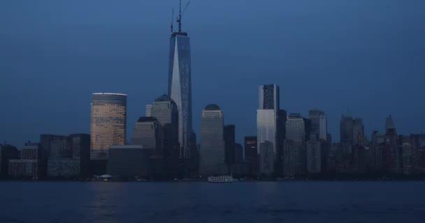 Lower Manhattan with Hudson River