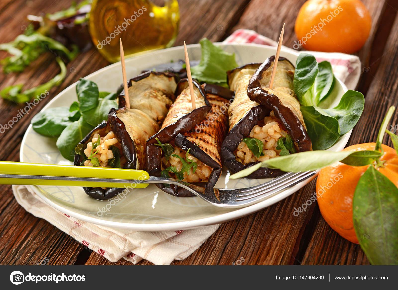 Patlıcan Ruloları