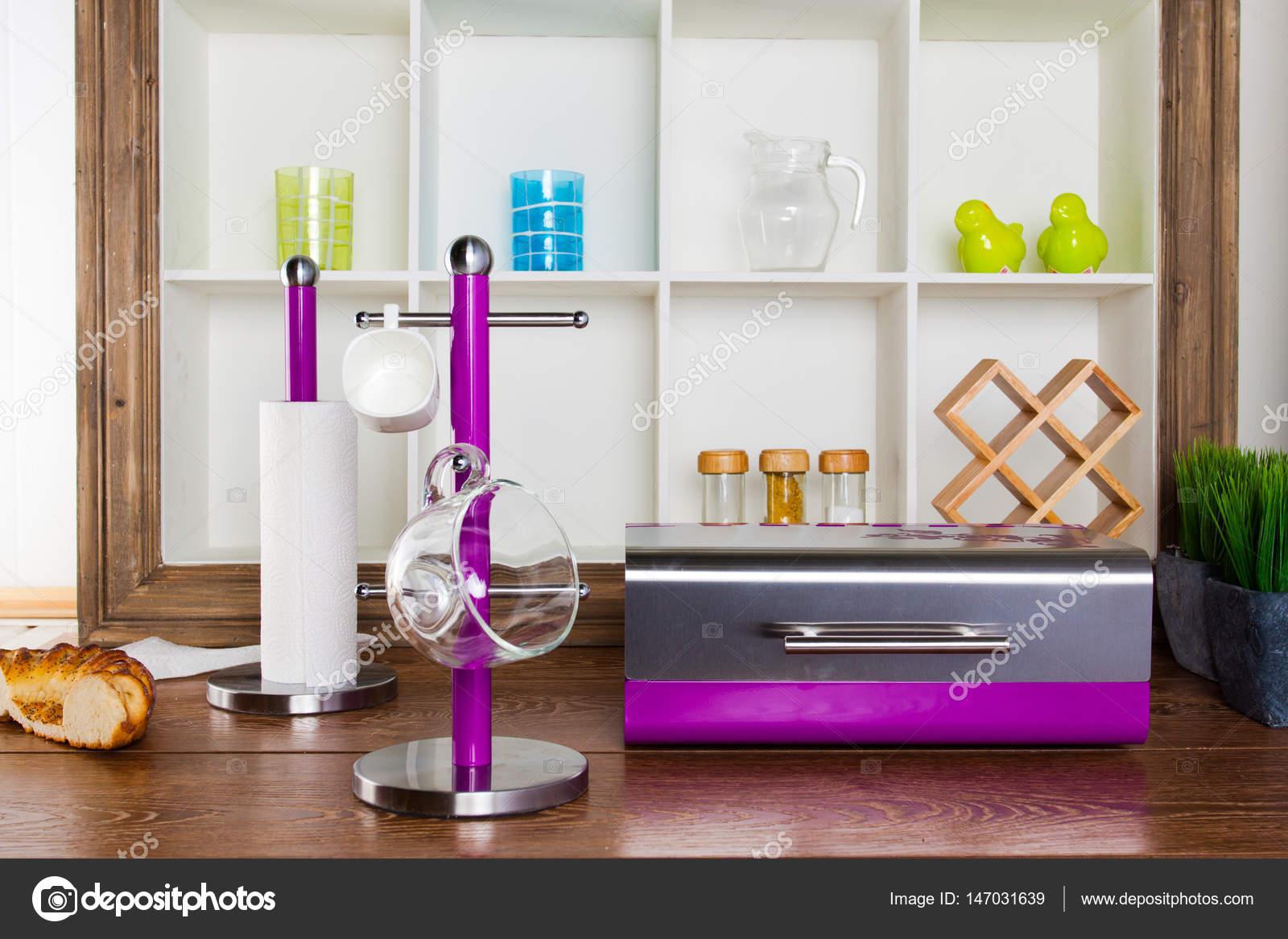 Perfekt Innen Im Provenzalischen Stil: Möbel Und Dekor U2014 Stockfoto