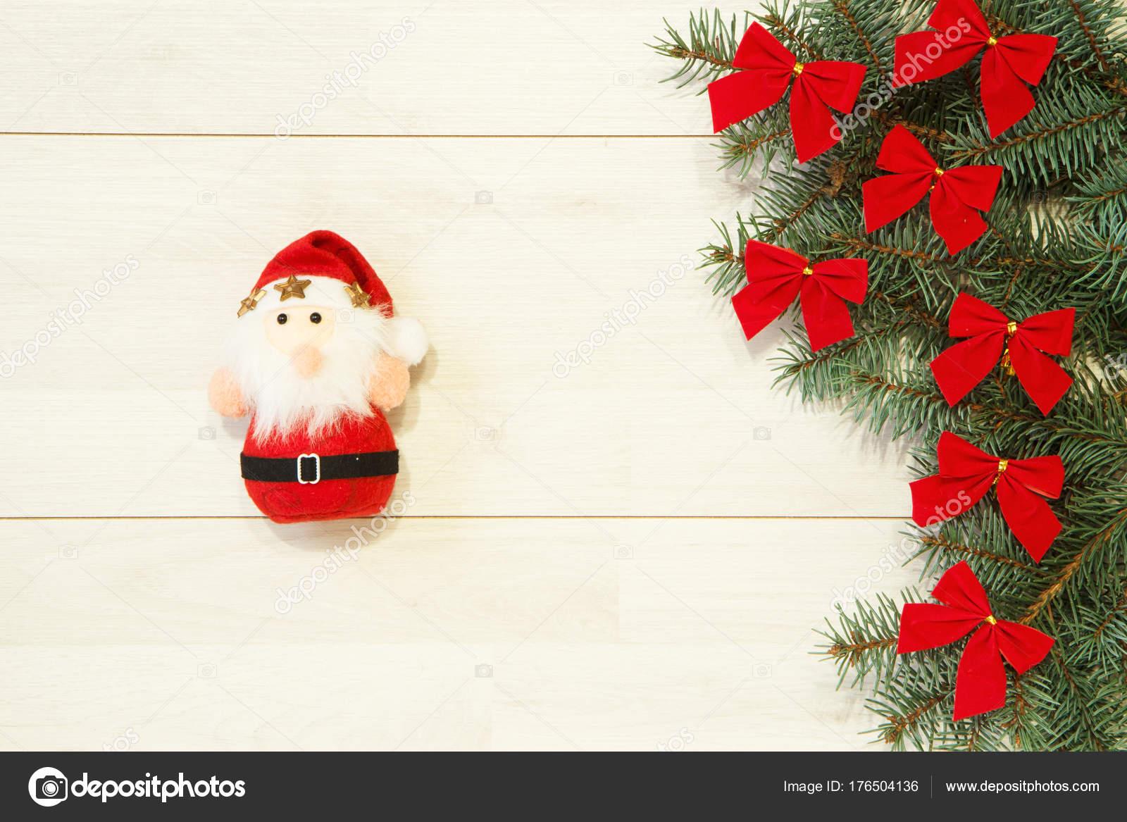 Navidad Año Santa Rojo Arbol Juguete Con Lazo Plantilla Nuevo NnOvy0wPm8