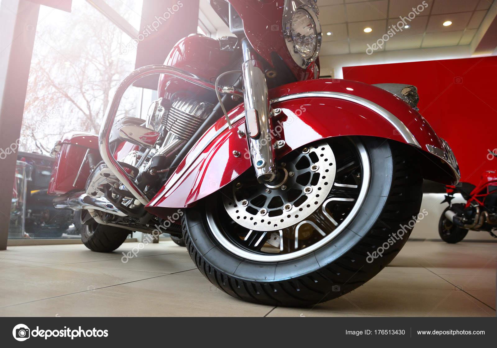 Descargar Motocicleta Motocicleta Muy Fresca Salón Motor Concepto