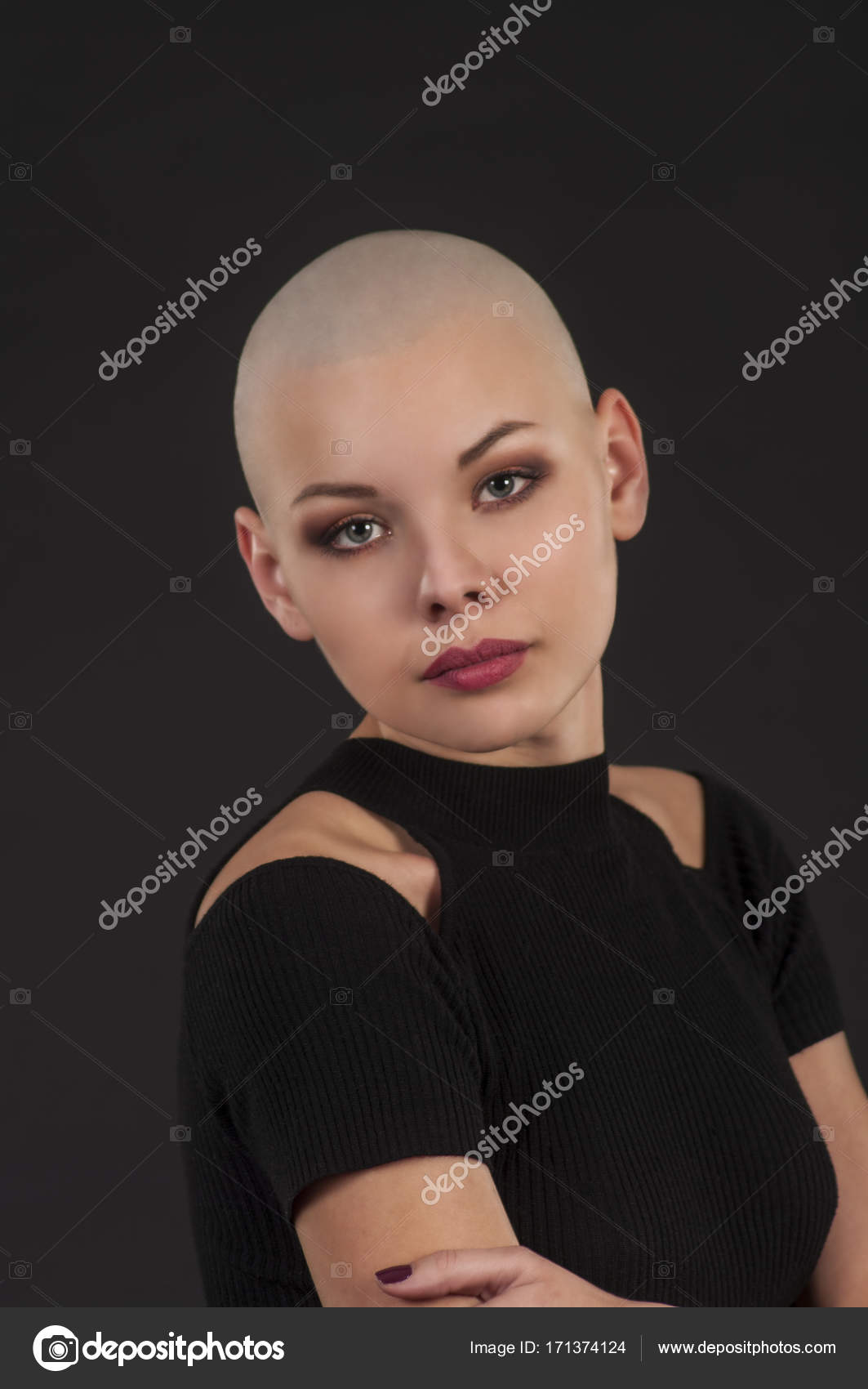 Rasierte Mädchenfotos
