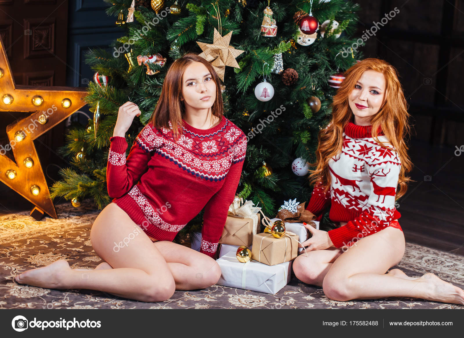 Are absolutely cute girl panties and sweater