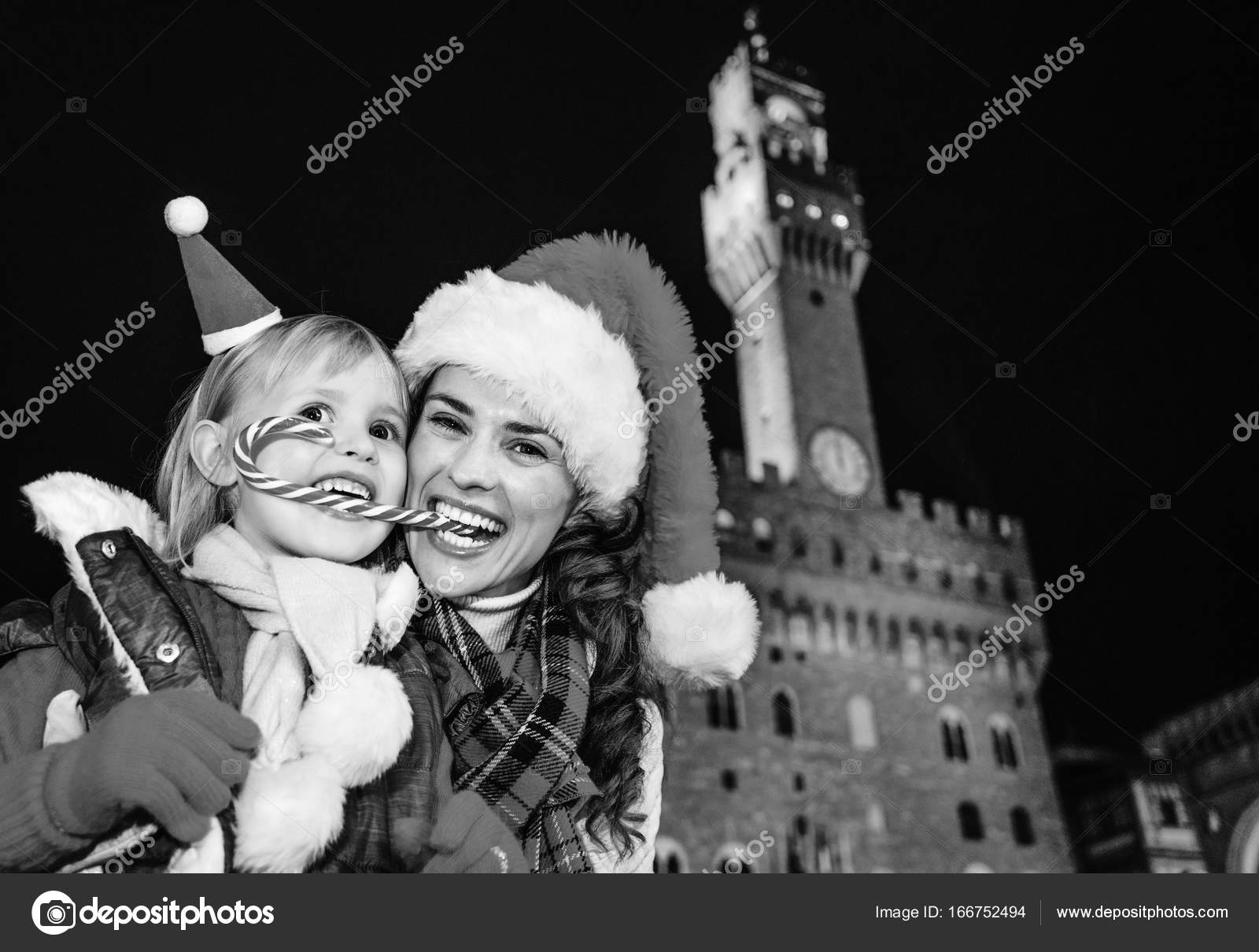 trip full inspiration christmas time florence portrait happy young