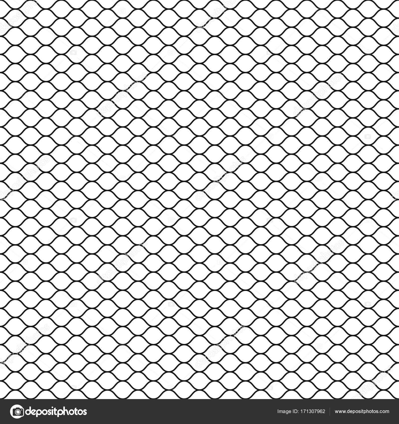 Kabelgebundene Zaun. Maschendrahtzaun. Fischnetz. Nahtlose ...